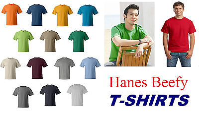 200 Hanes ComfortSoft Heavyweight Cotton T-Shirt 5280 S-XL WHOLESALE Lot of 200
