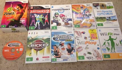 Wii with Board, Games, Accessories