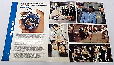 1970 distributors movie promo ~ THE GAMES ~ Michael Crawford