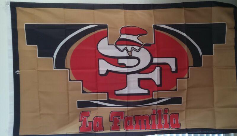 San Francisco 49ers Huelga Bird 3X5 Flag La Raza Chicano La Familia Farmero