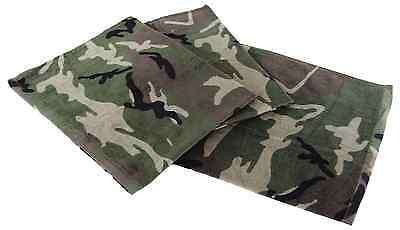 WOODLAND Badetuch Handtuch Saunatuch Frottee Camouflage Tarnung