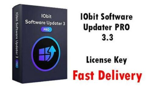 Iobit Software Updater🔥 Pro 3.3 License Key✔Till 2021 fast delivery 🚀