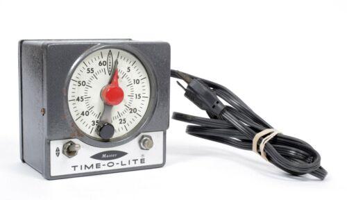 Time O Lite Master mechanical darkroom enlarging timer