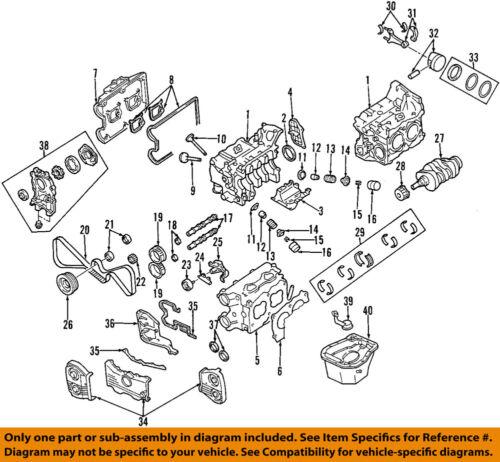 Diagram Of 1998 Subaru Engine