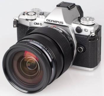 ☆Like New☆ Olympus OM-D E-M5 II Mark 2 PRO kit w/12-40 - silver Riverhills Brisbane South West Preview