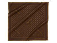 Louis Vuitton X Supreme Monogram Bandana 'Brown' Brand New