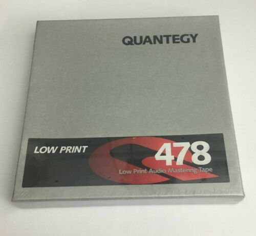 Lot Of (10) 478-13111C Quantegy Factory Sealed