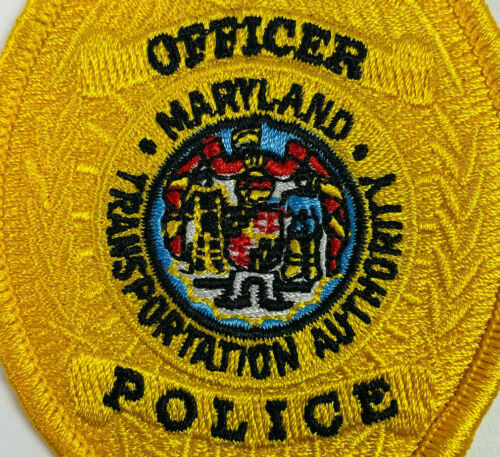 Officer Transportation Authority Police Maryland MD Patch (A2)