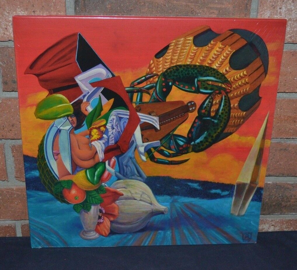 THE MARS VOLTA - Octahedron Limited Import 2LP BLACK VINYL Gatefold New & Sealed