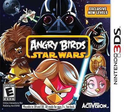 NEW Angry Birds Star Wars Nintendo 3DS FAST FREE SHIPPING 3d force jedi