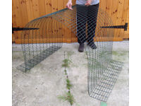 Omlet EGLU CLASSIC - 1 metre RUN EXTENSION Kit A - Add on 1m mesh run including clips