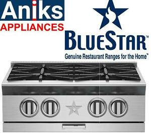 BlueStar Platinum Series BSPRT244B 24in Gas Rangetop. Reg $6169, Sale $4774 (416) 901-7557   http://www.aniksappliances.