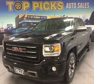 2015 GMC Sierra 1500 SLE, ALL TERRAIN, BUCKETS AND CONSOLE, 4X4!
