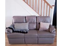 G-Plan Leather Sofa and Chair