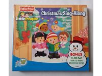 NEW FISHER PRICE LITTLE PEOPLE 2 CD CHRISTMAS SING ALONG SEALED. 33 SONGS.