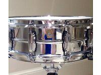 Brand New Ludwig 400 Aluminium 14 x 5 Snare Drum