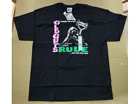 "Old Guys Rule ""I Fought The Lawn"" Black T-Shirt Size XL BNWT"