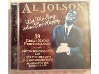 Al Jolson - Let Me Sing And I'm Happy (39 Great Radio Performances) CD