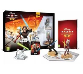 PS4 PLAY STATION 4 DISNEY INFINITY 3.0 STAR WARS STARTER BACK NEW UNOPENED