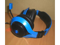 Gioteck FL200 Gaming Headset PS4 XBOX One PC