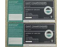 2 x Gant International Tennis Tickets Pre Wimbledon Event - 30th June
