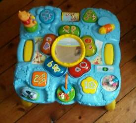 Vetch Winnie the Pooh activity table