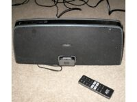 Altec Lansing Portable Stereo Speaker iMT630 With iDock & Auxiliary Input