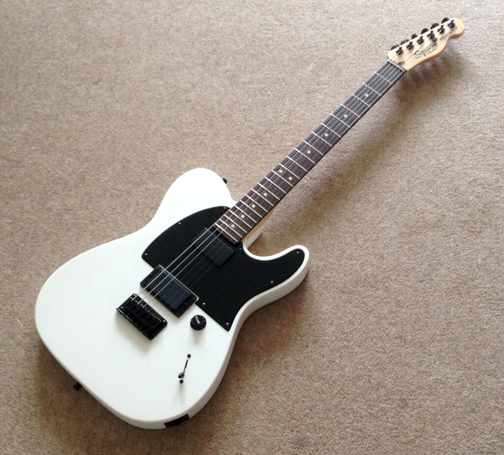 squier jim root telecaster electric guitar price dropped for quick sale in hirwaun rhondda. Black Bedroom Furniture Sets. Home Design Ideas