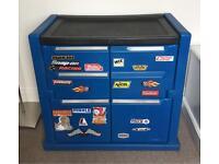 Kids Racing Car Mechanic Toolbox Cupboard