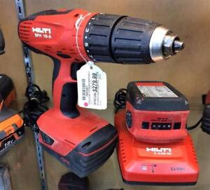 Perceuse à percussion 1/2'' drive vitesse variable HILTI SFH 18-A ***Excellente Condition*** #F023261