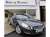 2012 VOLVO S60 SALOON,AUTOMATIC,DIESEL,LEATHER,BLUETOOTH,FULL HISTORY,WARRANTY,FINANCE AVAILABLE