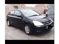 HONDA CIVIC 1.6 RELIABLE FULL LEATHER SEATS ELECTRONIC WI DOWS , STARTS FIRST TIME BARGAIN