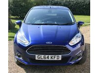 Ford Fiesta Ecoboost 5 dr Auto, Full Ford Service History, 2 Careful Owners, Excellent Condition