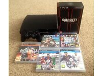 Play Station 3 120GB + 6 Games