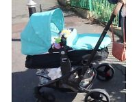Mothercare xpeditor 4 Wheel Travel System with car seat 2015 model
