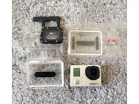 GoPro Hero 3 Silver Edition with 16 GB Micro SD card