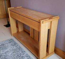 Oak Hallway Table