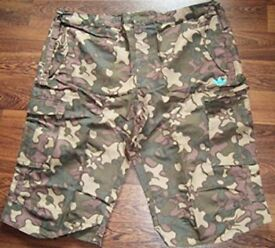 adidas mens shorts camo army style rare design adidas originals Size XL