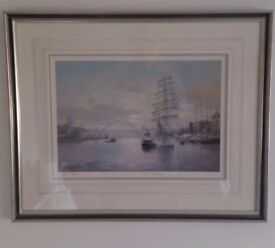 Framed prints by Walter Holmes local artist.