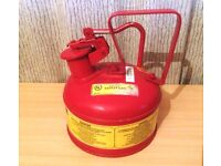 Justrite 1.9L Safety Can For Flammables Type 1 with Trigger Handle
