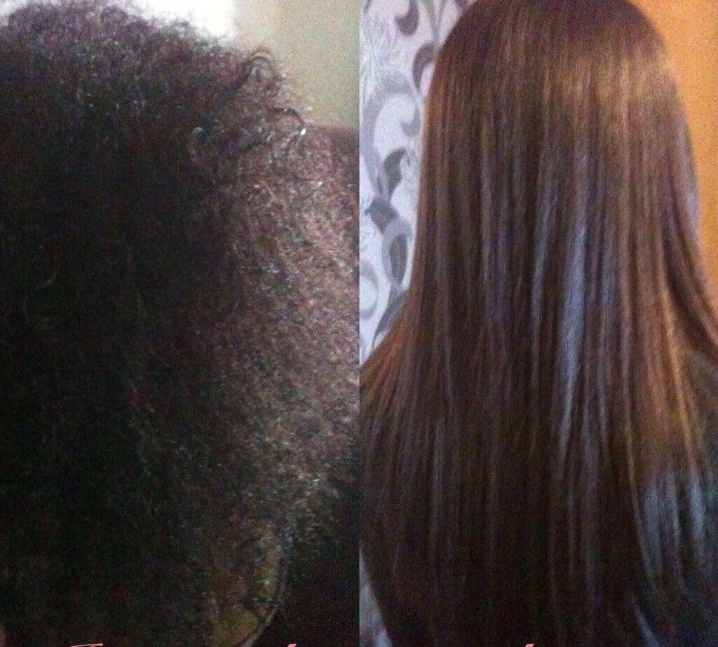 Japanese Keratin Hair Straightening Plus Tape In Hair Extensions