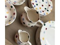 Extensive selection of Emma Bridgewater crockery - polka dot design
