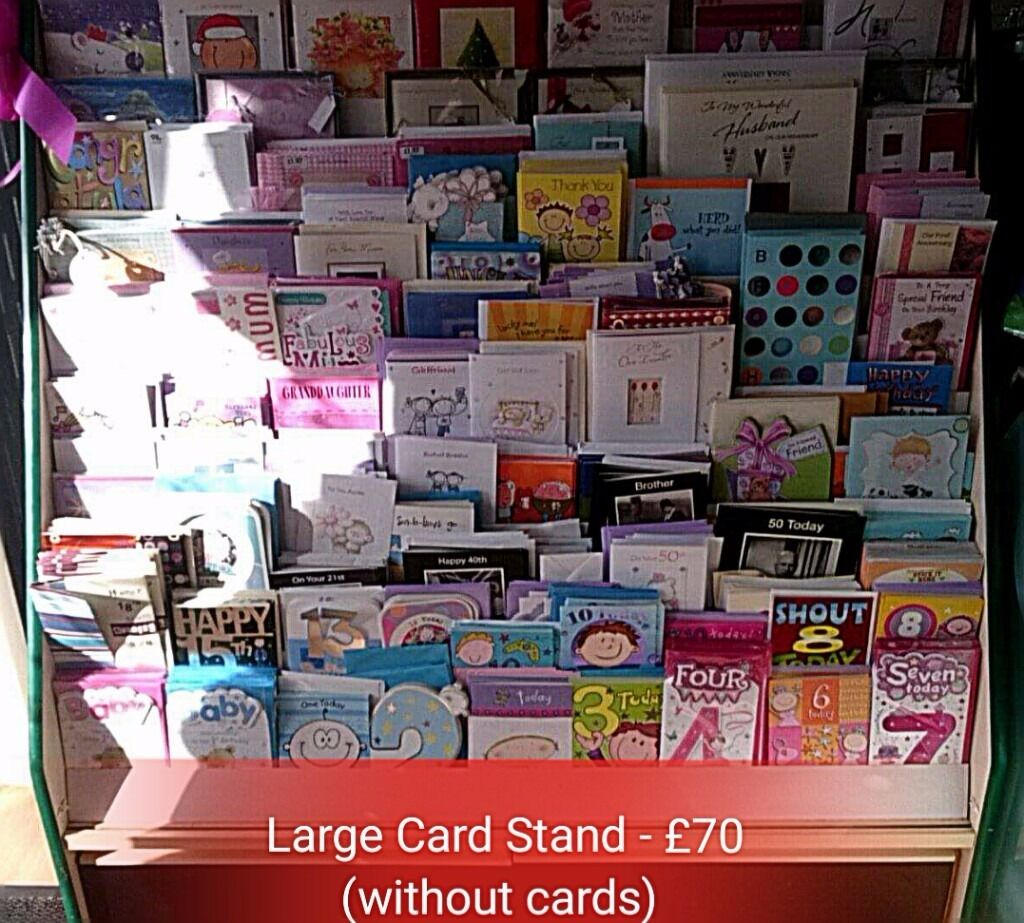 Large Card Display Stand