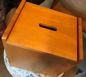 SOLID PINE STORAGE BOX/TOY BOX