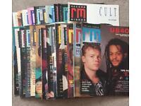Vintage Record Mirror magazines 1984-1989
