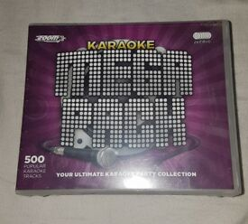 Karaoke mega pack 500 songs !