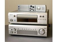 Denon Stereo Hi-Fi DRA-F101 & DCD-F101 receiver & Cd player