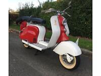 Lambretta ld125 1957 fully restored ld 125 uk registered learner legal mot tax exempt scooter li