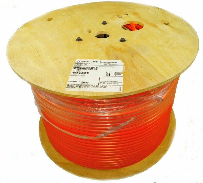 Commscope Tri-shield Flooded Underground Orange Cable Rg11 F1177tsef-xp-org 1000