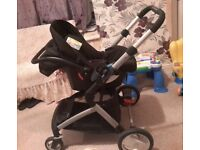 Mothercare Roam Travel System (Complete with all Extra Parts)